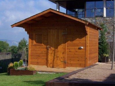 Casetes de fusta for Casetes de fusta per jardi
